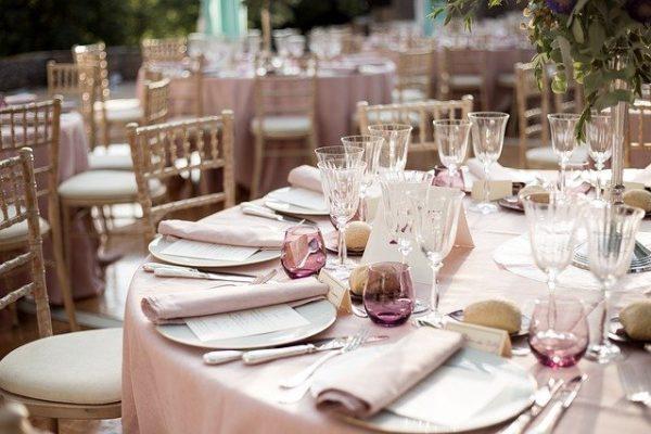 Les différents types d'accessoires de décoration de mariage